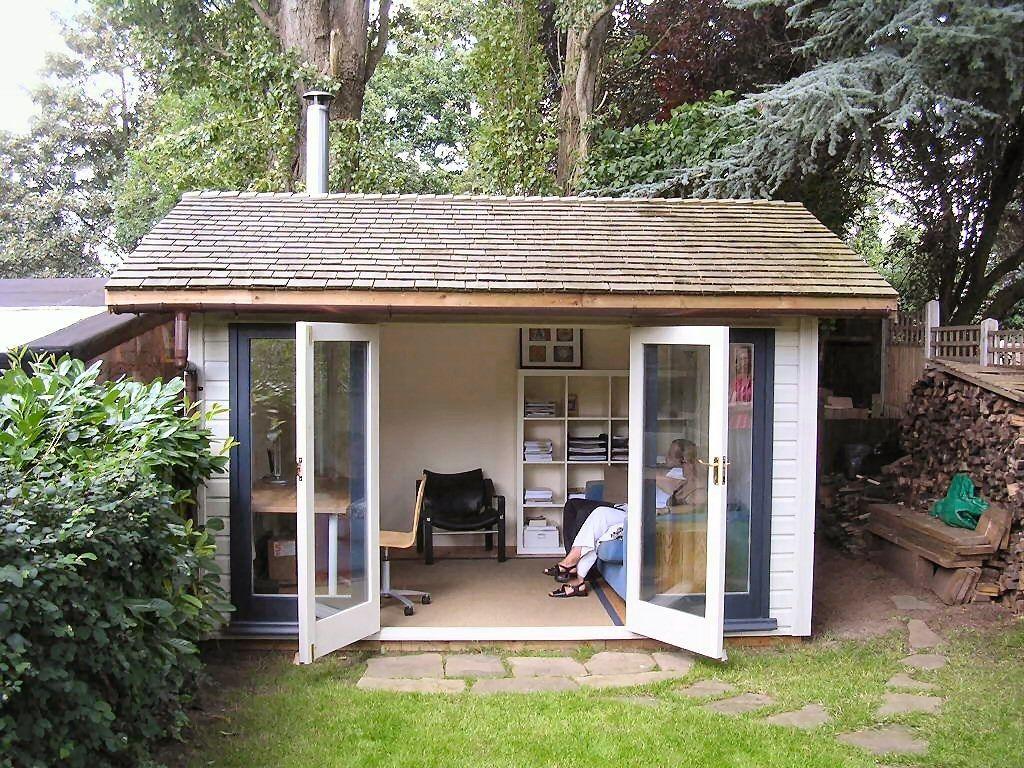 Warwick log cabins warwick garden buildings workrooms for Garden log cabins uk